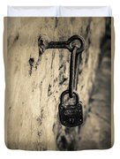 Vintage Lock Duvet Cover