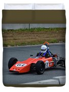 Vintage Lotus 61 Duvet Cover