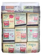 Vintage Matchbooks Duvet Cover