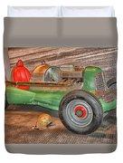 Vintage Midget Racer Duvet Cover