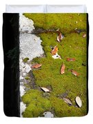 Vintage Moss Duvet Cover