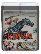 Vintage Movie Poster 4 Duvet Cover