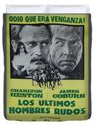 Vintage Movie Poster 6 Duvet Cover