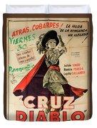 Vintage Movie Poster 7 Duvet Cover