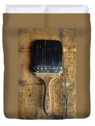 Vintage Paint Brush Duvet Cover