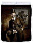 Vintage Photograph Of Vincent Van Gogh - Taken 13 Years After His Death Duvet Cover