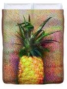 Vintage Pineapple Duvet Cover