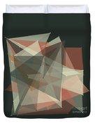Vintage Polygon Pattern Duvet Cover