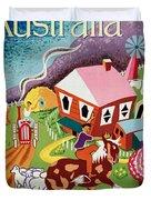 Vintage Poster - Australia Duvet Cover