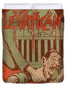 Vintage Poster - Vatican Galantara Duvet Cover