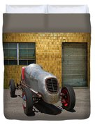 Vintage Racing Car Duvet Cover