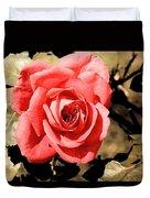 Vintage Rose 02 Duvet Cover