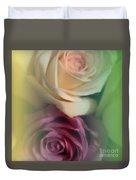 Vintage Roses 2 Duvet Cover