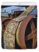 Vintage Rusty Machine Duvet Cover