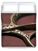 Vintage Scissors  Duvet Cover