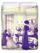 Vintage Seamstress Duvet Cover