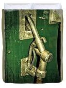 Vintage Sinclair Dino Gas Pump Duvet Cover
