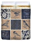Vintage Songbird Patch 2 Duvet Cover