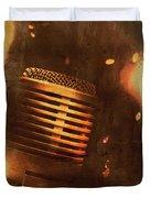 Vintage Sound Check Duvet Cover