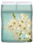Vintage Spring Blossoms Duvet Cover