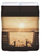 Vintage Sunrise Duvet Cover