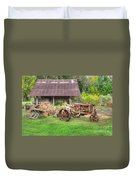 Vintage Tractor Duvet Cover