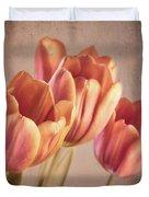 Vintage Tulips Duvet Cover by Wim Lanclus