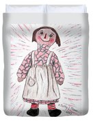 Vintage Volland Raggedy Ann Cloth Doll Duvet Cover
