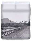 Vintage Waikiki Duvet Cover
