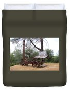 Vintage Well Driller 1 Duvet Cover