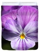 Viola Named Columbine Duvet Cover