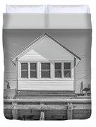 9 - Violet - Flower Cottages Series Duvet Cover