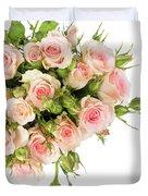 Bouquet Of Garden Roses Duvet Cover