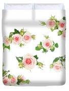 Graden Roses Duvet Cover