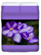 Violet Dreams Duvet Cover