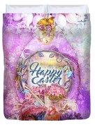 Violet Easter Duvet Cover