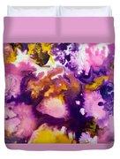Violet Explosion  Duvet Cover