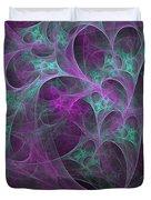 Violet Green Dimensions 16x9 Duvet Cover