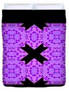 Violet Haze Abstract Duvet Cover