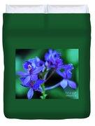 Violet Orchids Duvet Cover