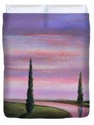 Violet Sky Duvet Cover