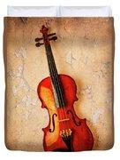 Violin Dreams Duvet Cover