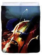 Violin Painting Art 321 Duvet Cover
