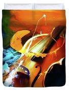 Violin Painting Art 51 Duvet Cover