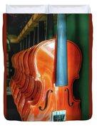 Violins For Sale Duvet Cover