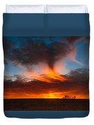 Virga Sunset Duvet Cover