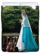 Virgen Concepcion De Ataco 4 Duvet Cover