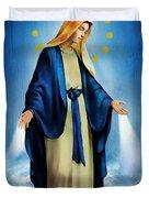 Virgen Milagrosa Duvet Cover