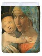 Virgin And Child 1495 Duvet Cover