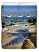 Virgin Gorda Beach Duvet Cover